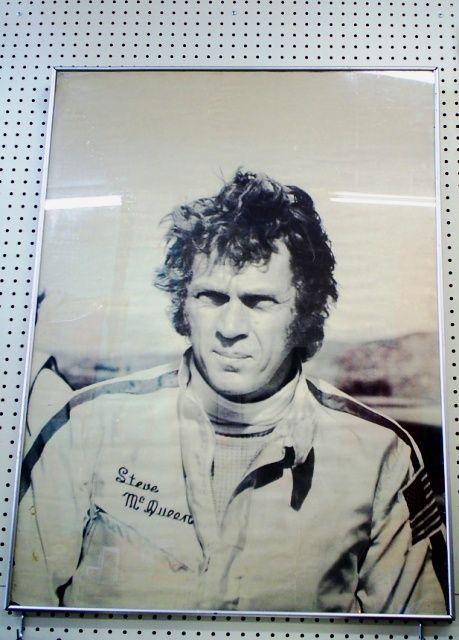 Amazing 24x36 framed Steve McQueen poster, $95. (SHERMAN OAKS) SOLD ...