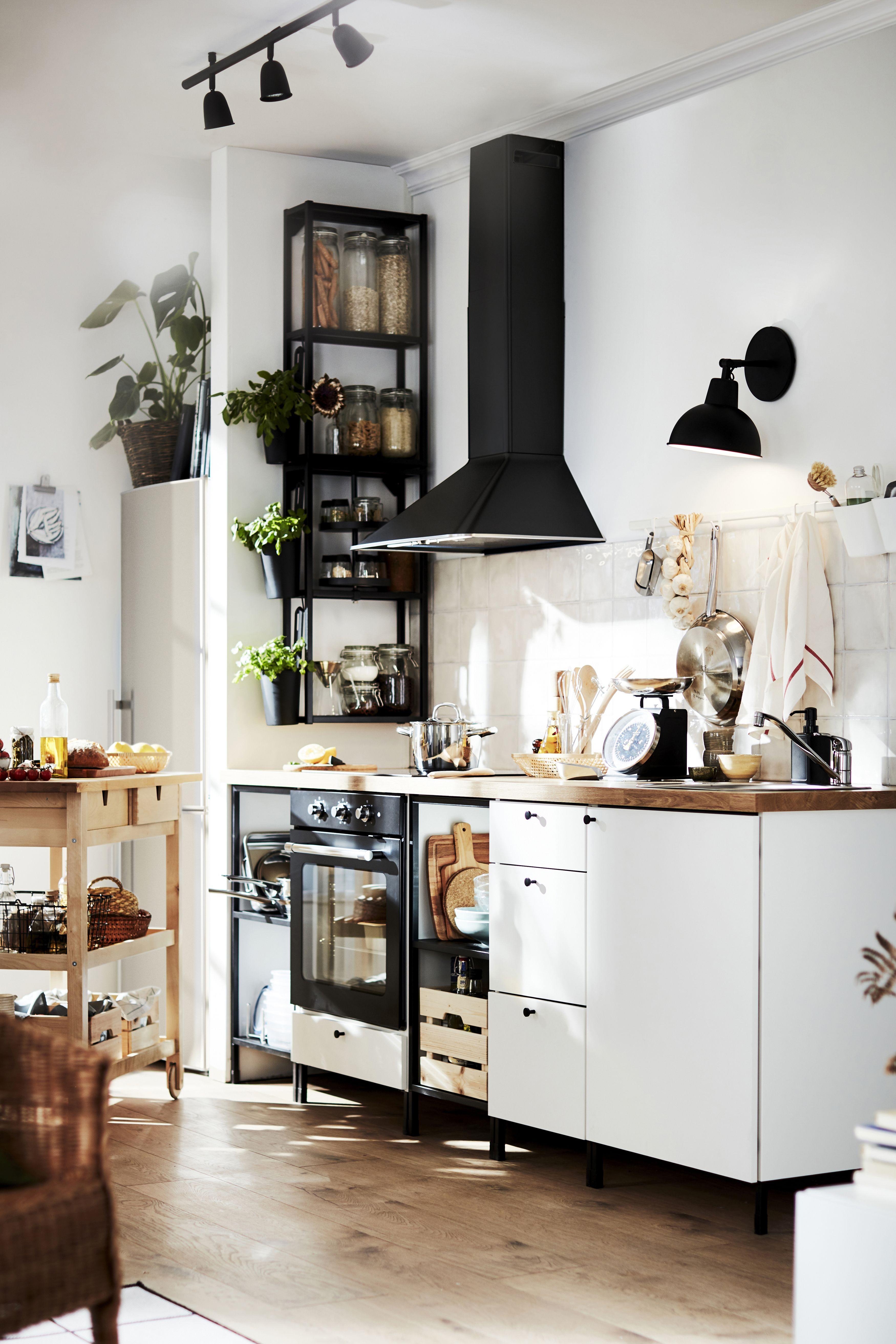 Küche & Küchenmöbel für dein Zuhause   Cuisine ikea, Idée déco ...