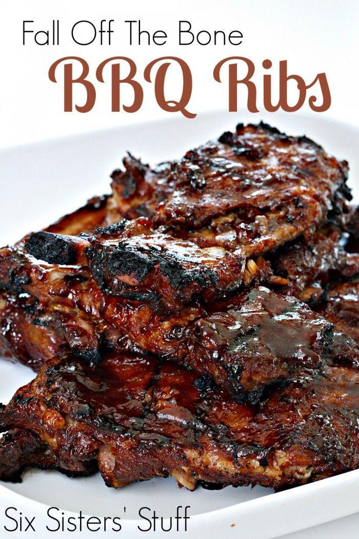 Fall Off The Bone Bbq Ribs Recipe Food Recipes Rib Recipes Grilling Recipes