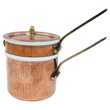 Check out this item at One Kings Lane! French Copper Double Boiler