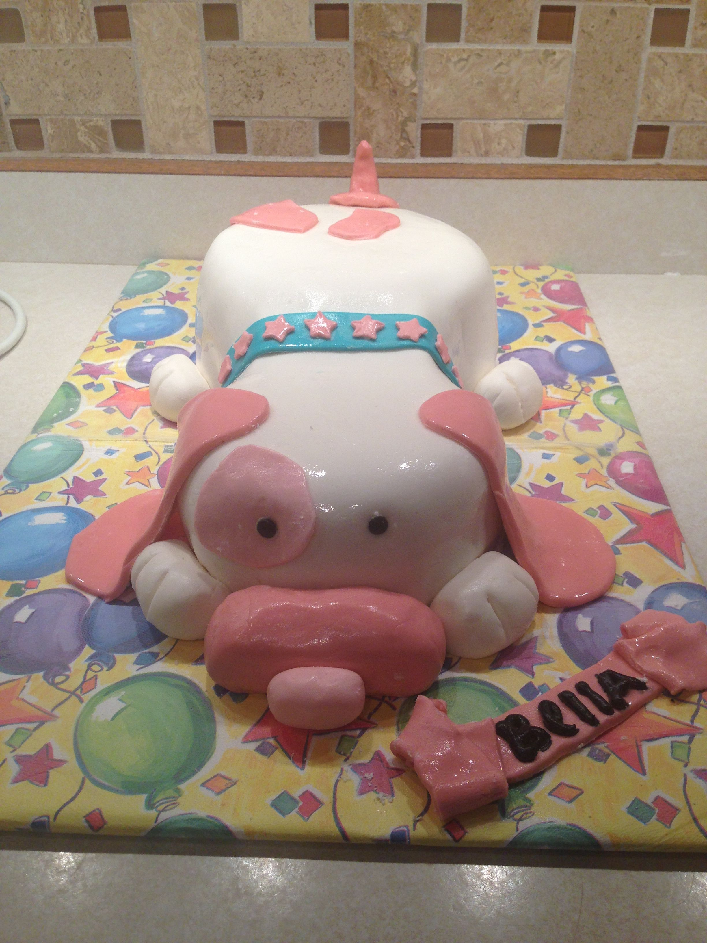 Puppy cake for kids cakes pinterest puppy cake cake and