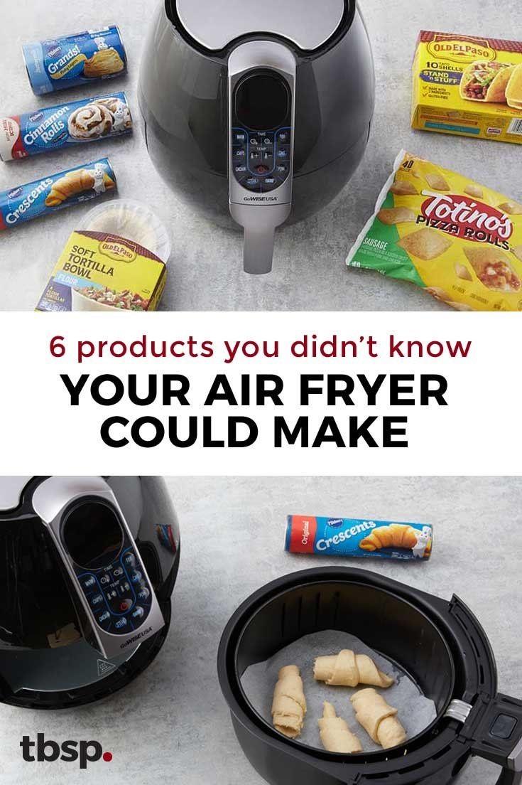 Six Products You Never Knew Your Air Fryer Could Make For You #airfryerrecipes
