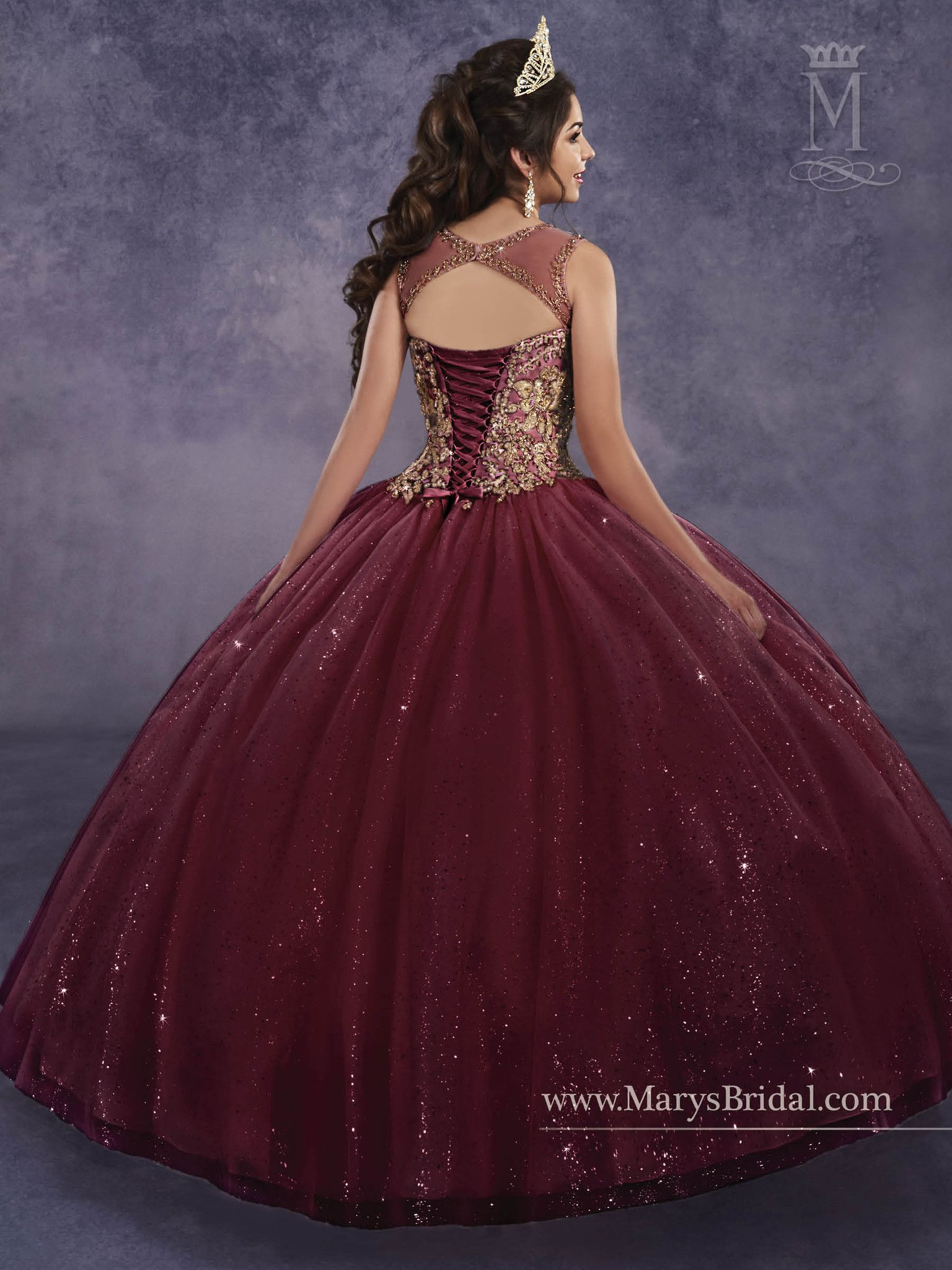 ce061b238e8 Mary s Bridal Princess Collection Quinceanera Dress Style 4Q496