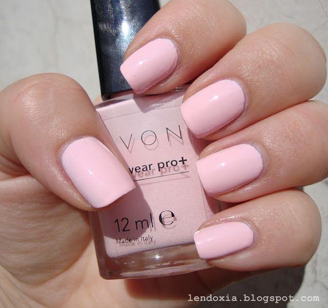 Avon Nailwear PRO + Pastel Pink   uñas   Pinterest   Esmalte