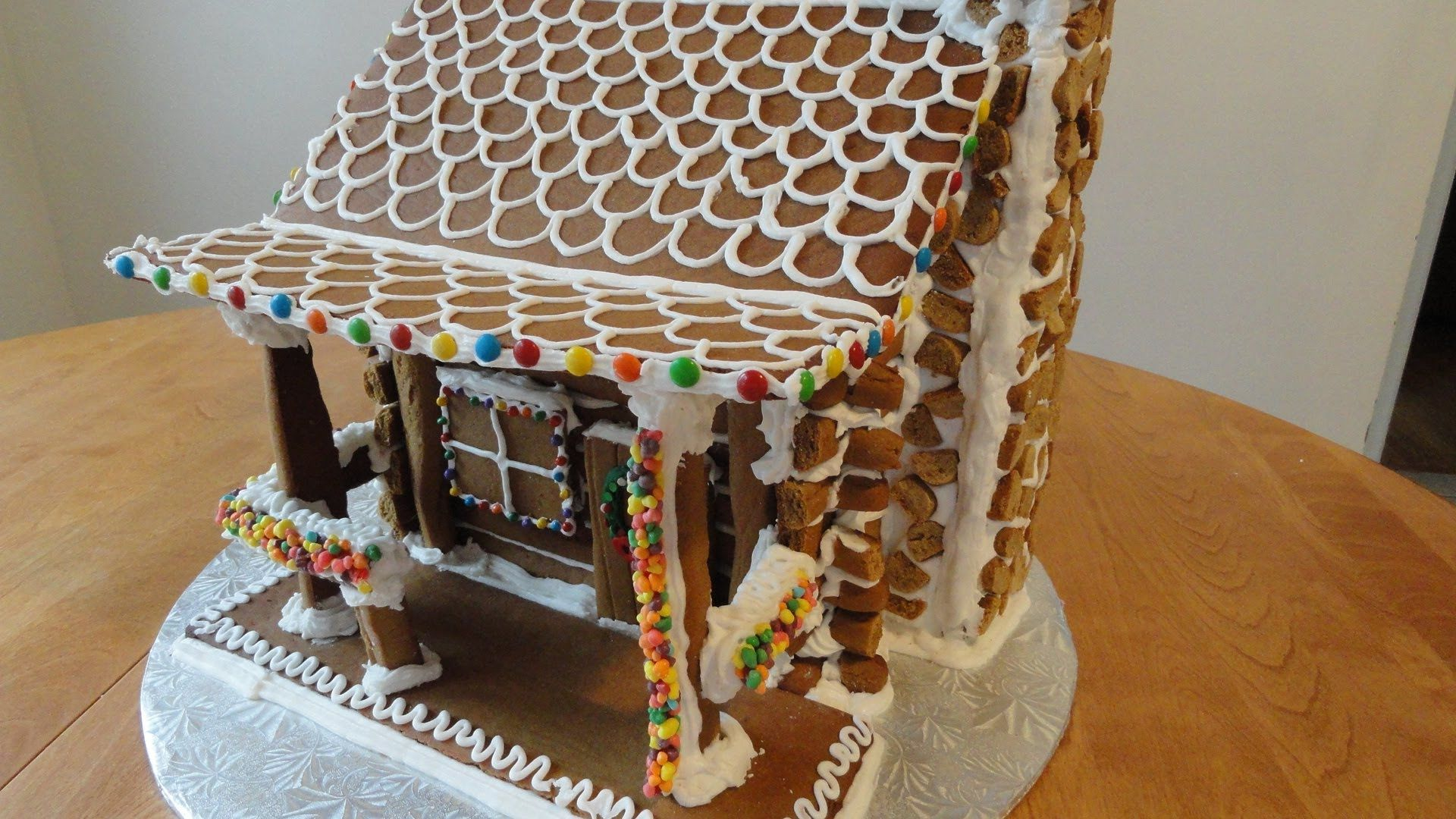 Ginger Bread Log Cabin Part 1 Plan On Taking At Least 3 Days For
