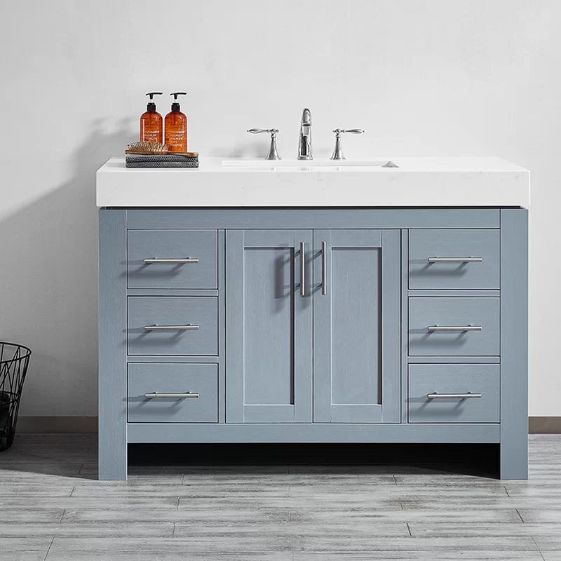 Neva 48 Single Bathroom Vanity Set