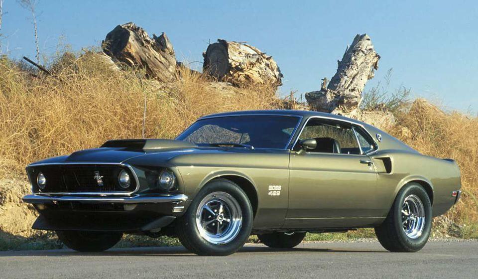1969 Ford Mustang Boss 429 Seafoam Green Ford Mustang Boss