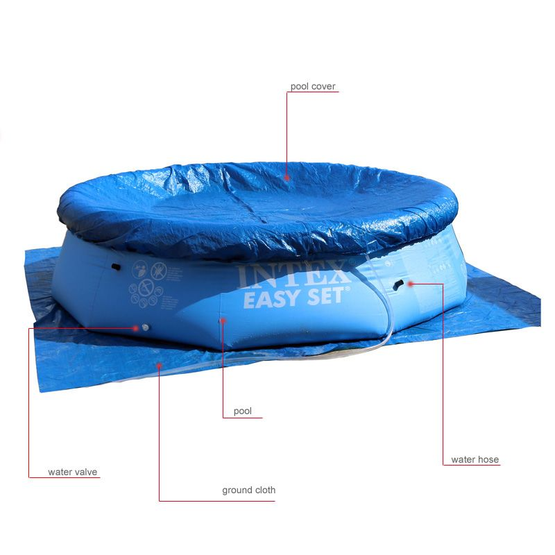 above ground pool ground cloth pool inflatable cover accessory ...