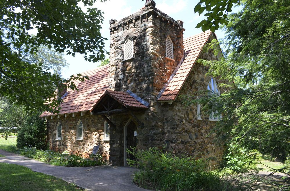 Old church in Charlottesville, beautiful structure