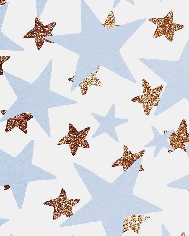 Blue And Glitter Gold Stars Cute Wallpapers Artsy Background Iphone Wallpaper Iphone wallpaper artsy star background
