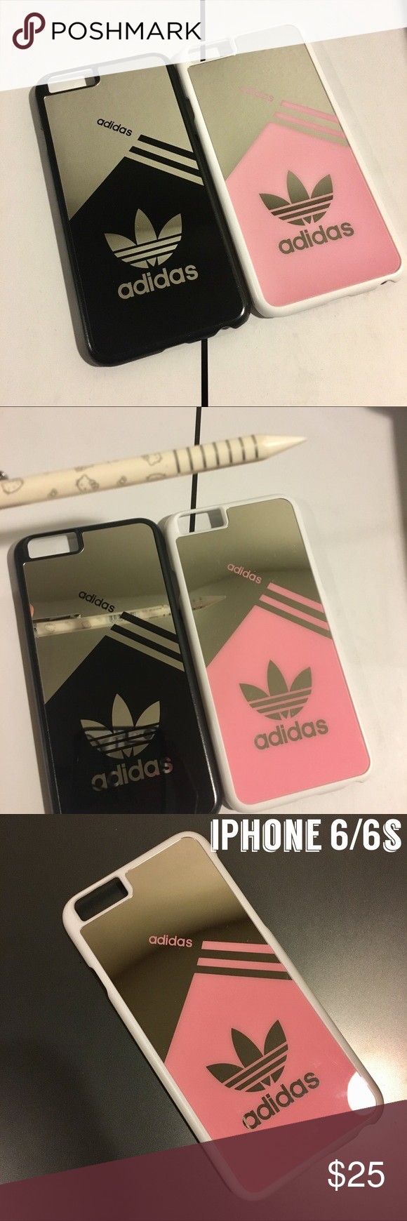 """new product c08f5 bb432 Power Couple"""" iPhone 6/6s Hard Reflective Cases 2 for $25 1 Pink ..."""