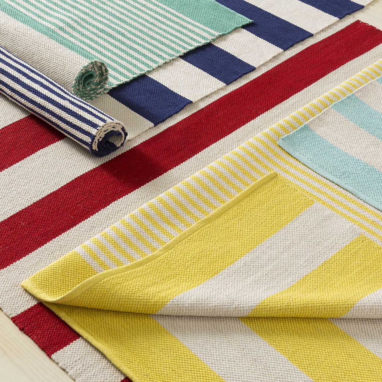 Surya striped rugs lend a fresh, cheery and coastal look - perfect ...