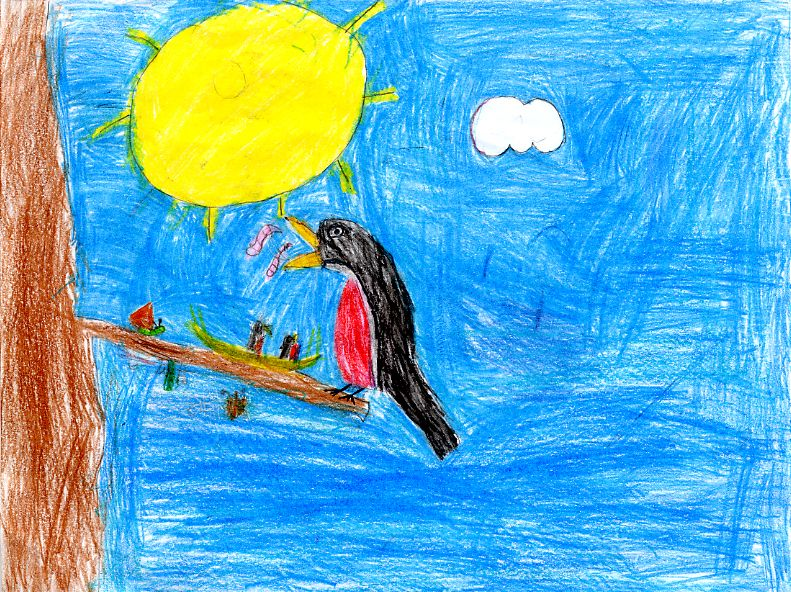 kids wildlife art competition honorable mention winners kindergarten - Kinder Kid Competition