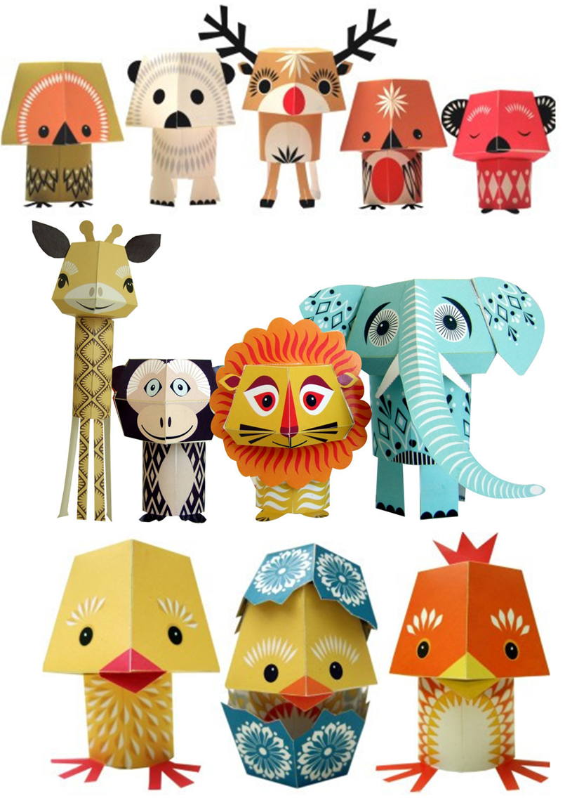Paper craft animals by mibo httpmibo no paper craft animals by mibo httpmibo jeuxipadfo Image collections