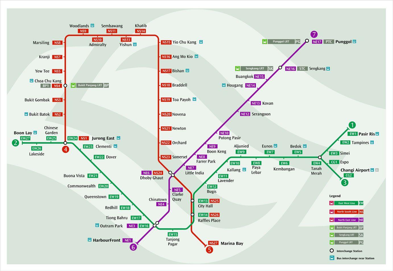 Interesting 20 MRT Maps of Singapore Check more at http://dougleschan.com/the-recruitment-guru ...