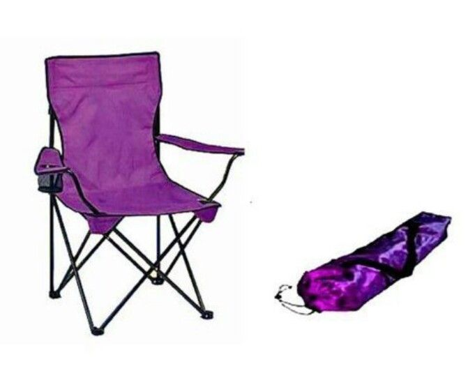 Purple Camp Chair Camping Chairs Butterfly Chair Purple