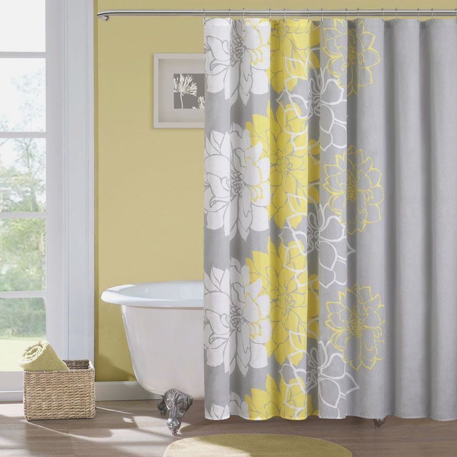 Yellow And Grey Bathroom Wall Decor Bsm farshout.com | Modern Home ...