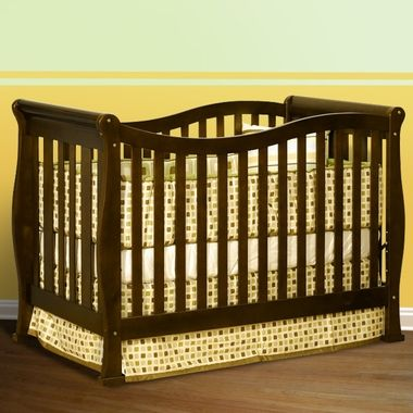 AFG Athena Nadia 3 In 1 Convertible Crib Espresso FREE SHIPPING CribToddler BedSolid
