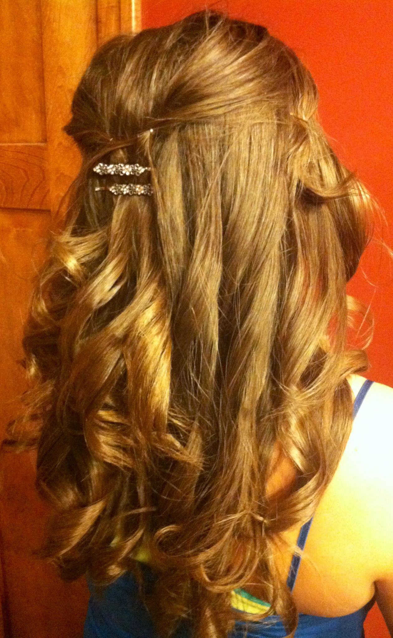 partial updo wedding hairstyles - http://hairstyle.girls-s