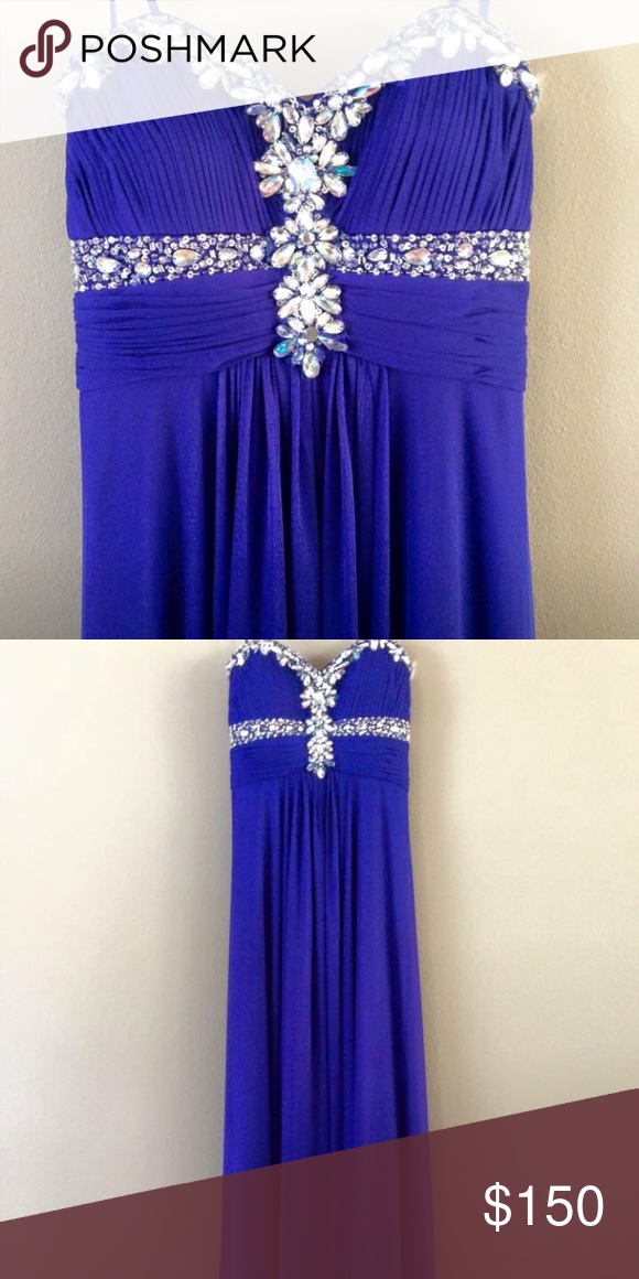 Mardi Gras gown or prom dress   Blue floor, Strapless gown and Mardi ...