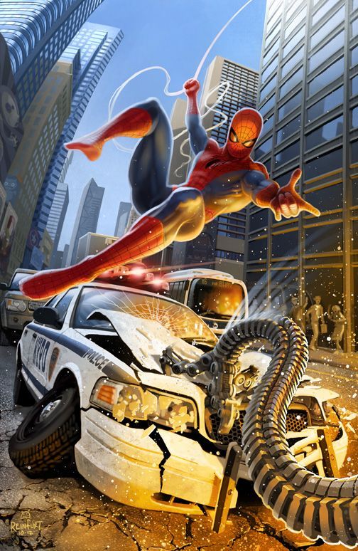 #Spiderman #Fan #Art. (Spider-Man) By: Stephen Reinfurt. (THE * 5 * STÅR * ÅWARD * OF: * AW YEAH, IT'S MAJOR ÅWESOMENESS!!!™)[THANK Ü 4 PINNING!!!<·><]<©>ÅÅÅ+(OB4E)