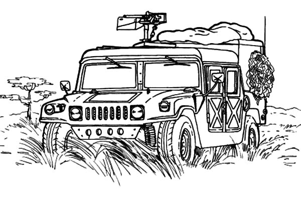 Military Jeep Patrol Coloring Pages Color Luna Monster Truck Coloring Pages Truck Coloring Pages Cars Coloring Pages