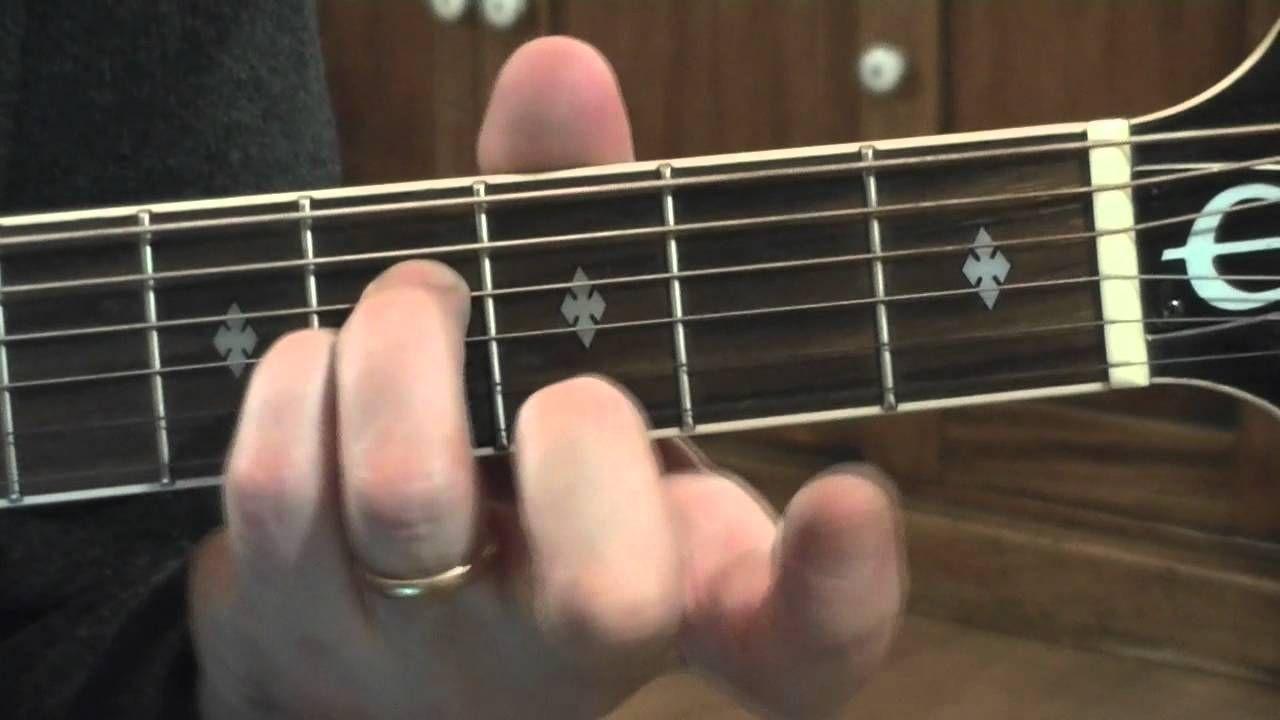 How To Play The B Minor Chord Guitar Pinterest Guitar Guitar