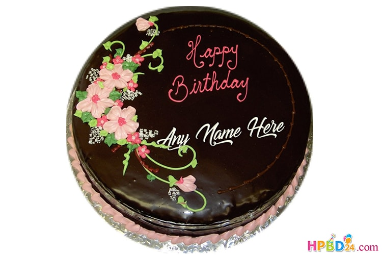 Chocolate Birthday Cake By Name Free Download Birthday Cake Chocolate Cake Beautiful Birthday Cakes