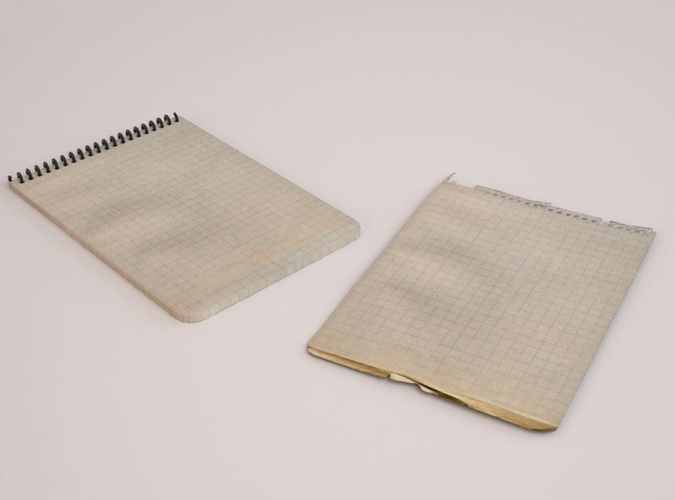 Graph Paper Pad  Free D Model Ready For Cg Projects Available