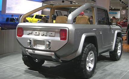 2015 Ford Bronco Ford Bronco Ford Bronco Concept Ford