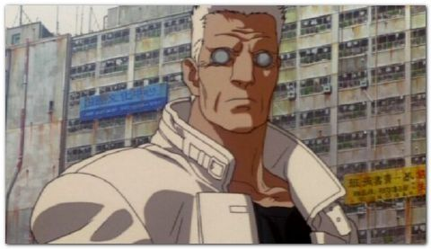 Batou From Ghost In The Shell Anime Brilliant Character And Simple But Unique Design