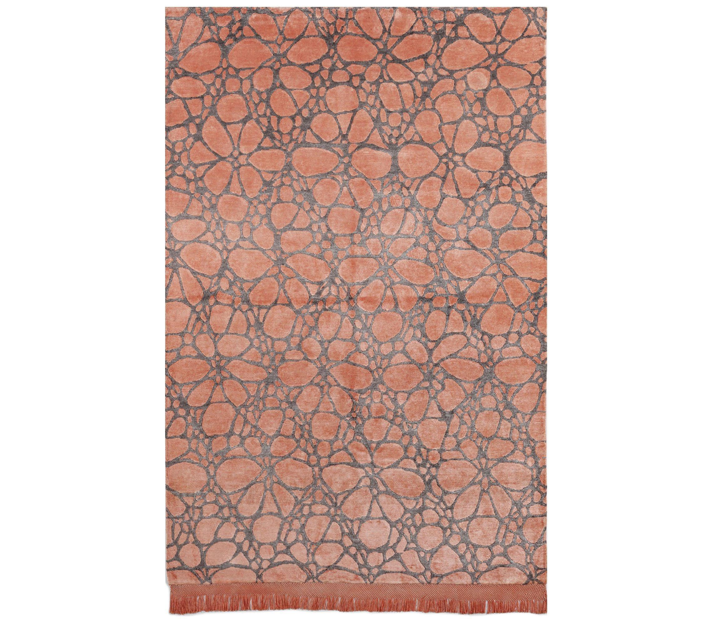 La alfombra del d a dante nocturno melocot n alfombras - Alfombras de bambu a medida ...