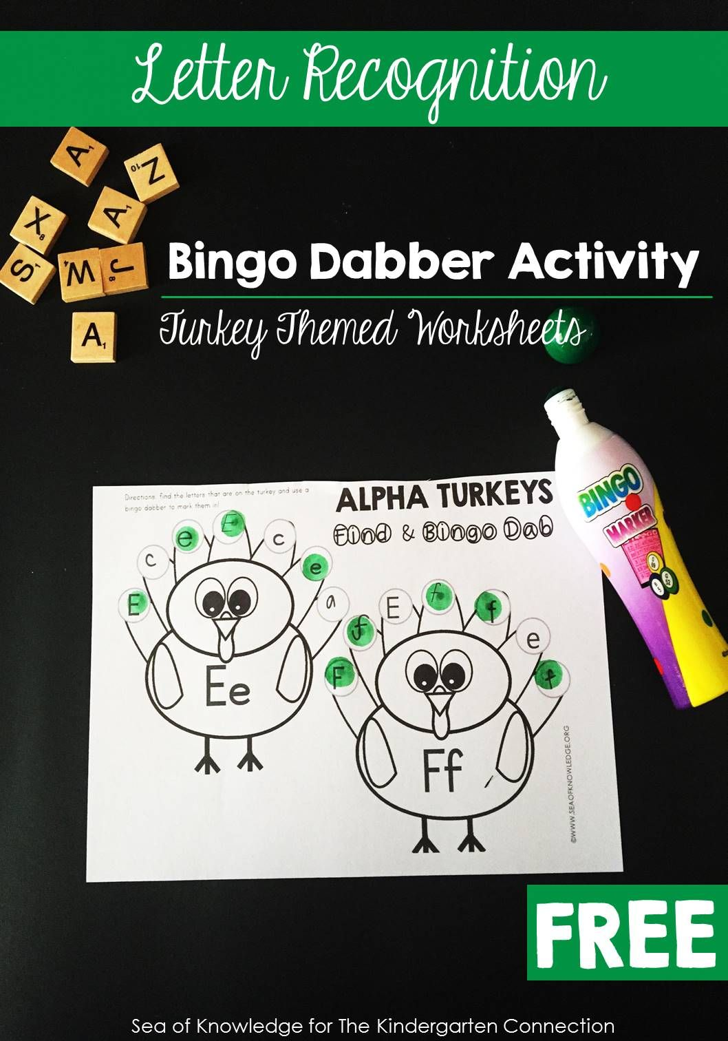 Turkey Letter Recognition Activity