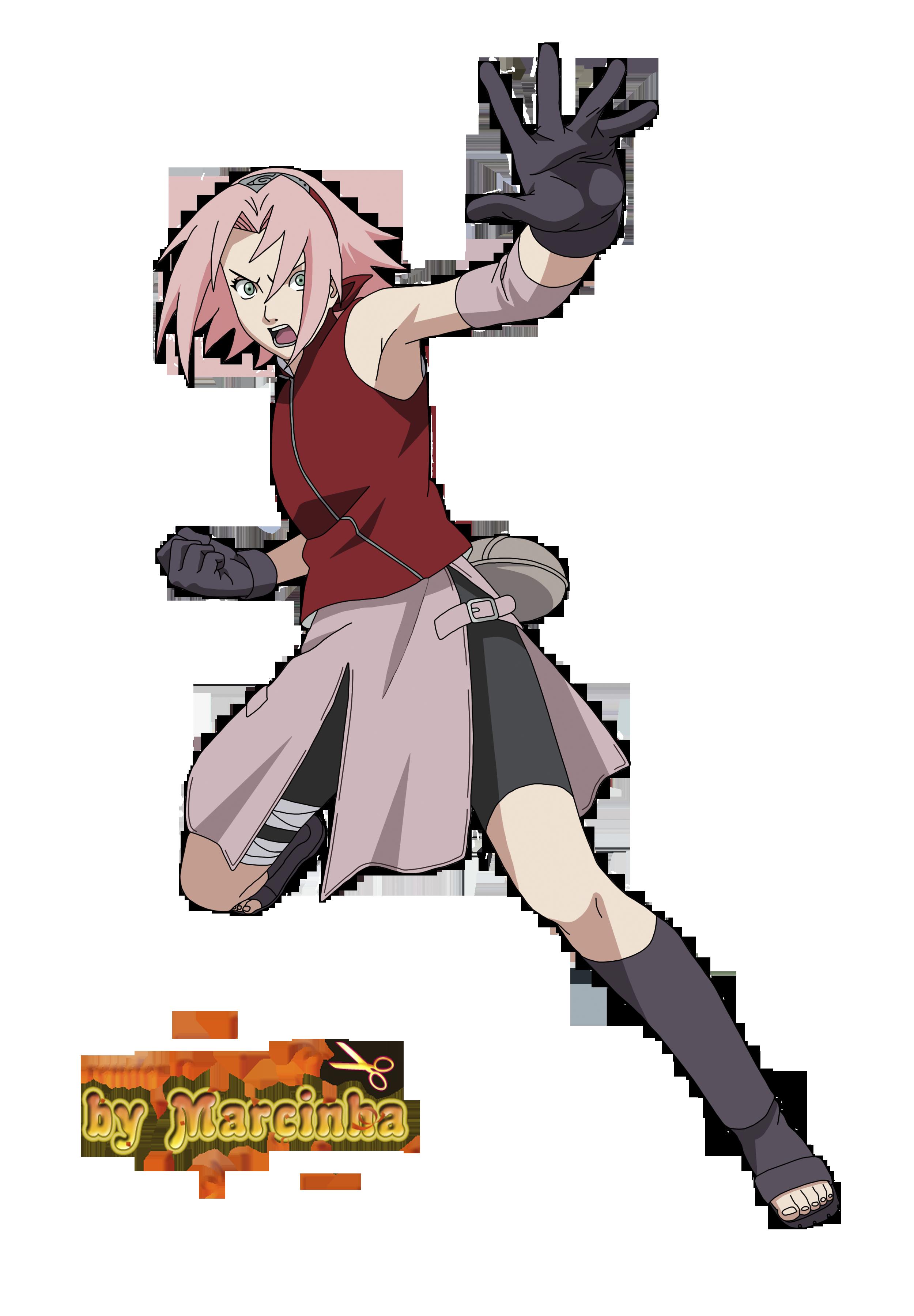Png Haruno Sakura By Marcinha20 Personagens De Anime Desenhos