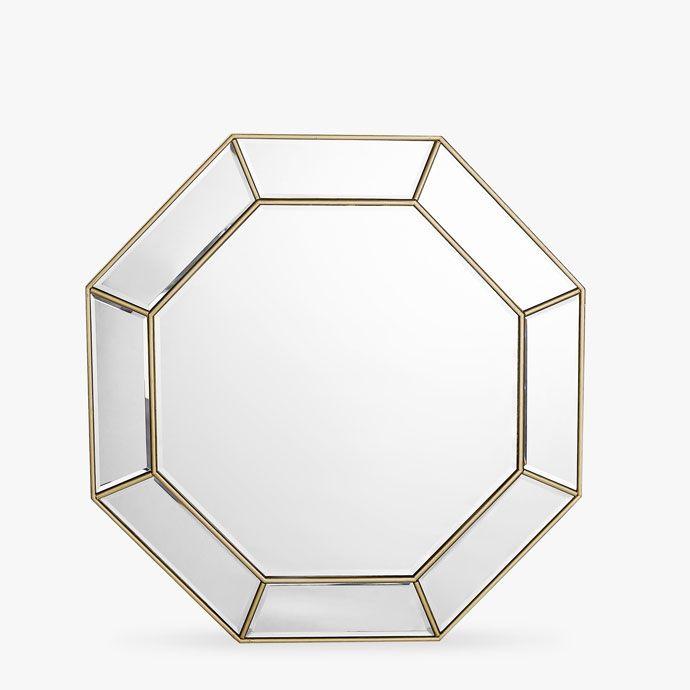 achteckiger spiegel mit doppeltem profil spiegel dekoration zara home deutschland bedroom. Black Bedroom Furniture Sets. Home Design Ideas