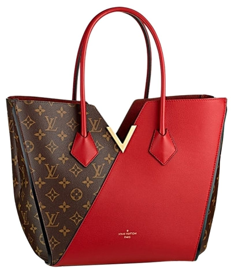 76efb0830b29 Get one of the hottest styles of the season! The Louis Vuitton Cherry  Monogram Canvas Kimono Red Tote Bag is a top 10 member favorite on Tradesy.