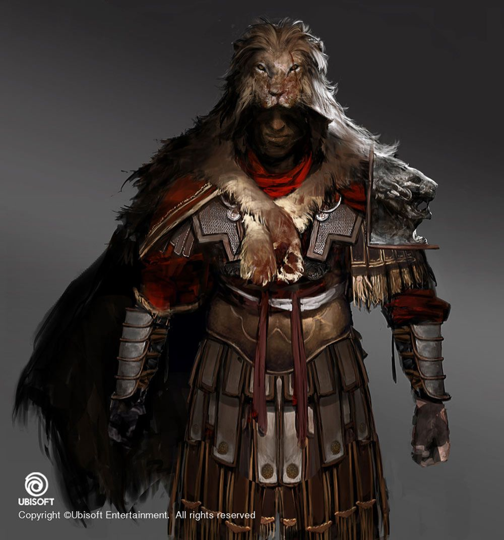 Centurion Outfit From Assassin S Creed Origins Assassins Creed