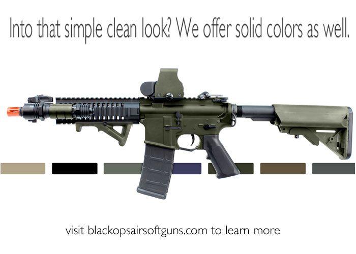 black ops airsoft custom paint jobs pt 2 guns pinterest