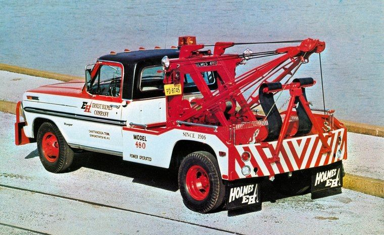 The Absolute Truck Of The Day A Holmes 480 Sling Tow Truck