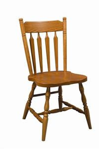 Amish Colonial Arrow Back Dining Room Chair Chair Dining Chairs