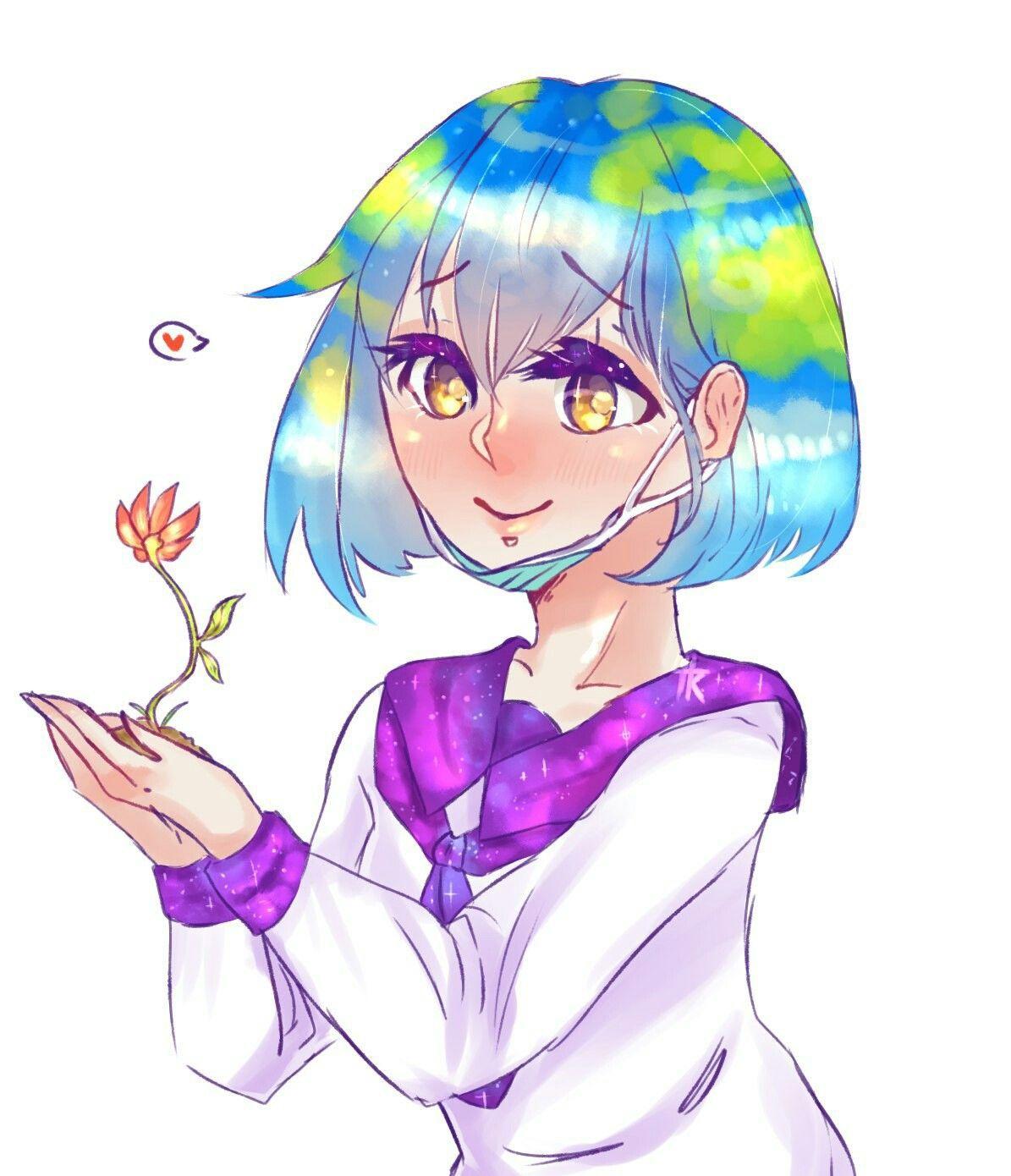 Похожее изображение Purple art, Anime, comics