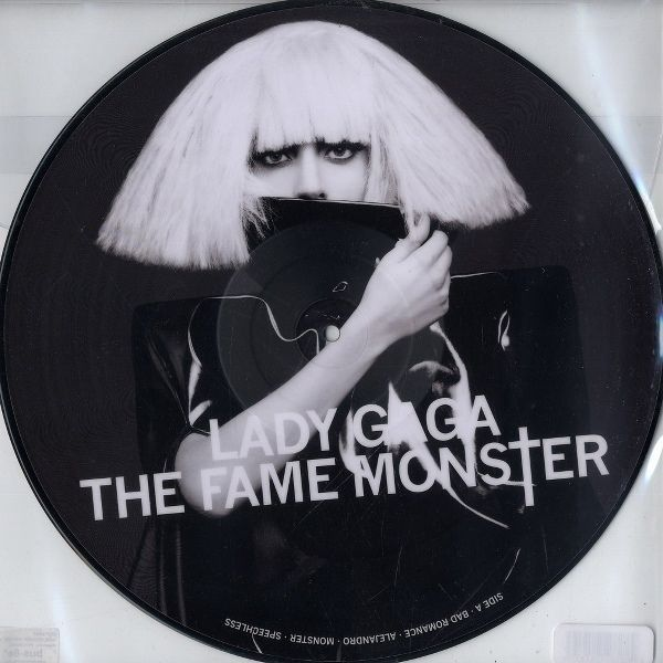 Lady Gaga The Fame Monster Album Lp Picture Disc 12 Vinyl The Fame Monster Lady Gaga The Fame Lady Gaga Albums