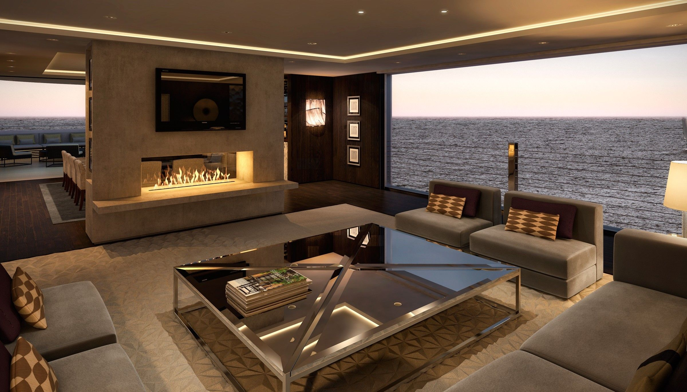 Luxury Interior Design: Lawson Robb Also Excels As Private Yacht Interior