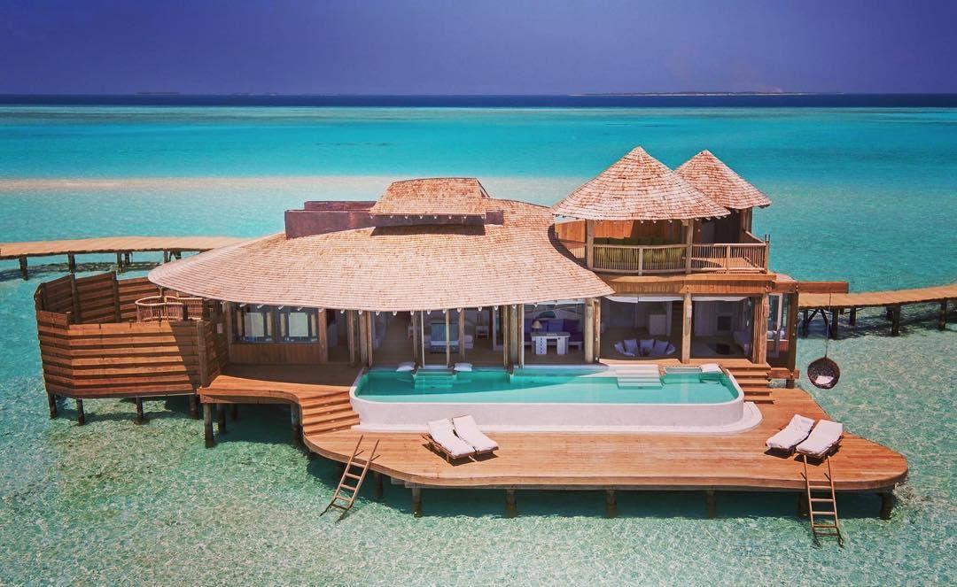 モルディブの新婚旅行でおすすめのホテル15選 水上コテージに泊まり