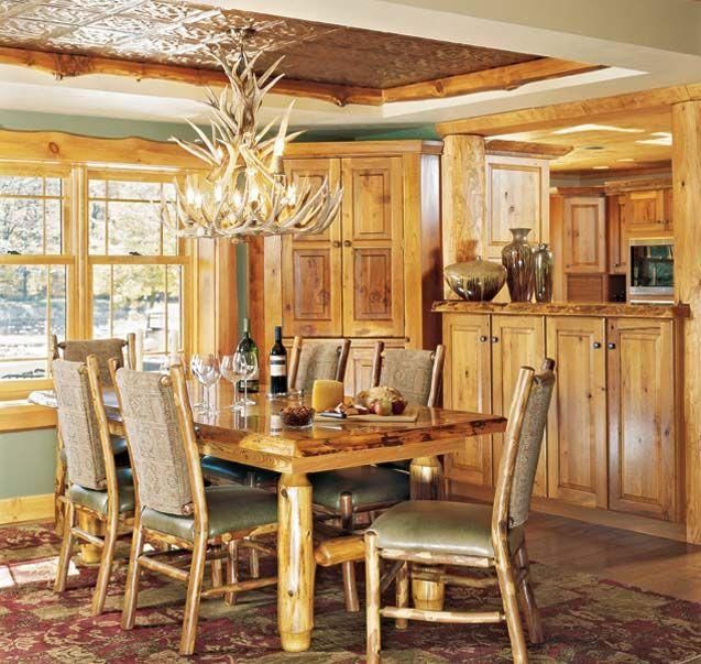 Room By Lighting Guide For Log Homes