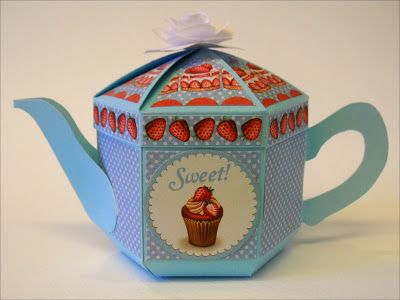 Sweet Teapot Gift Box