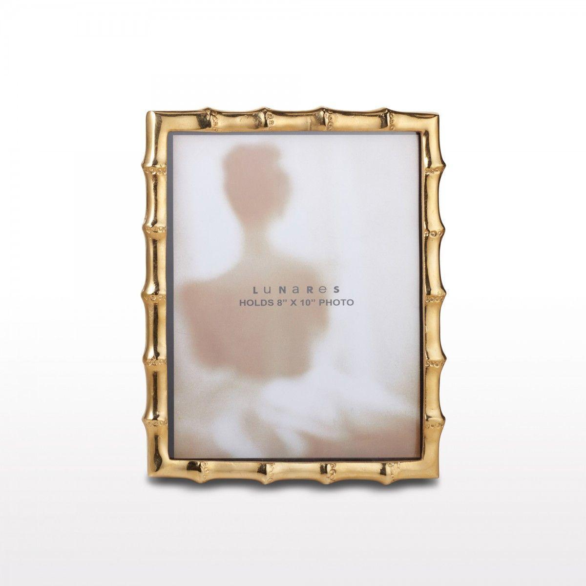 Bamboo Frame 8X10 Gold