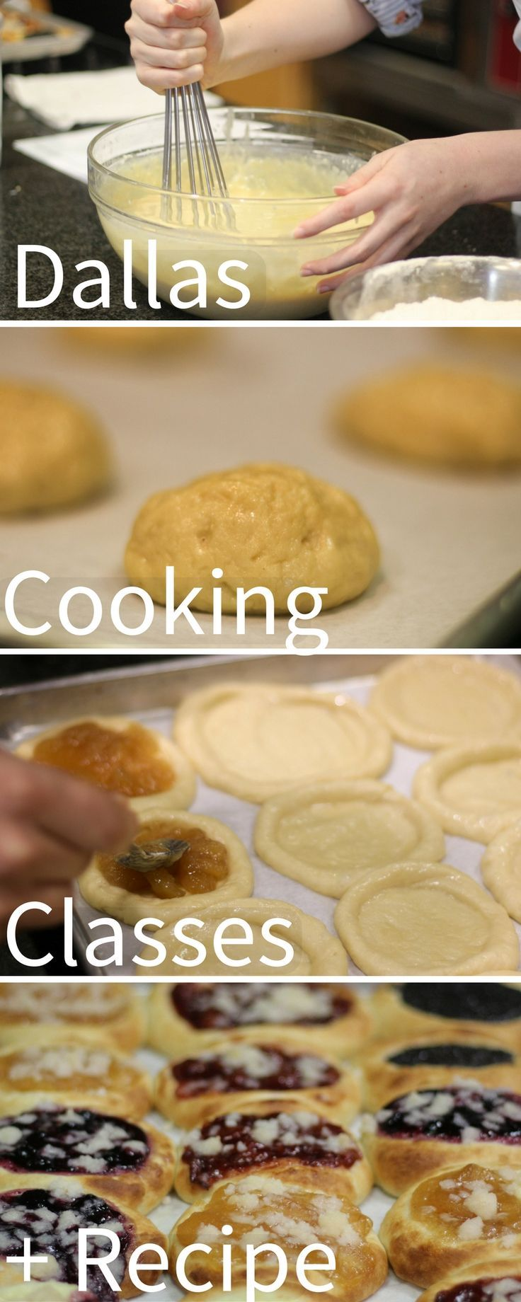 Dallas cooking classes a kolache pastry recipe foodie