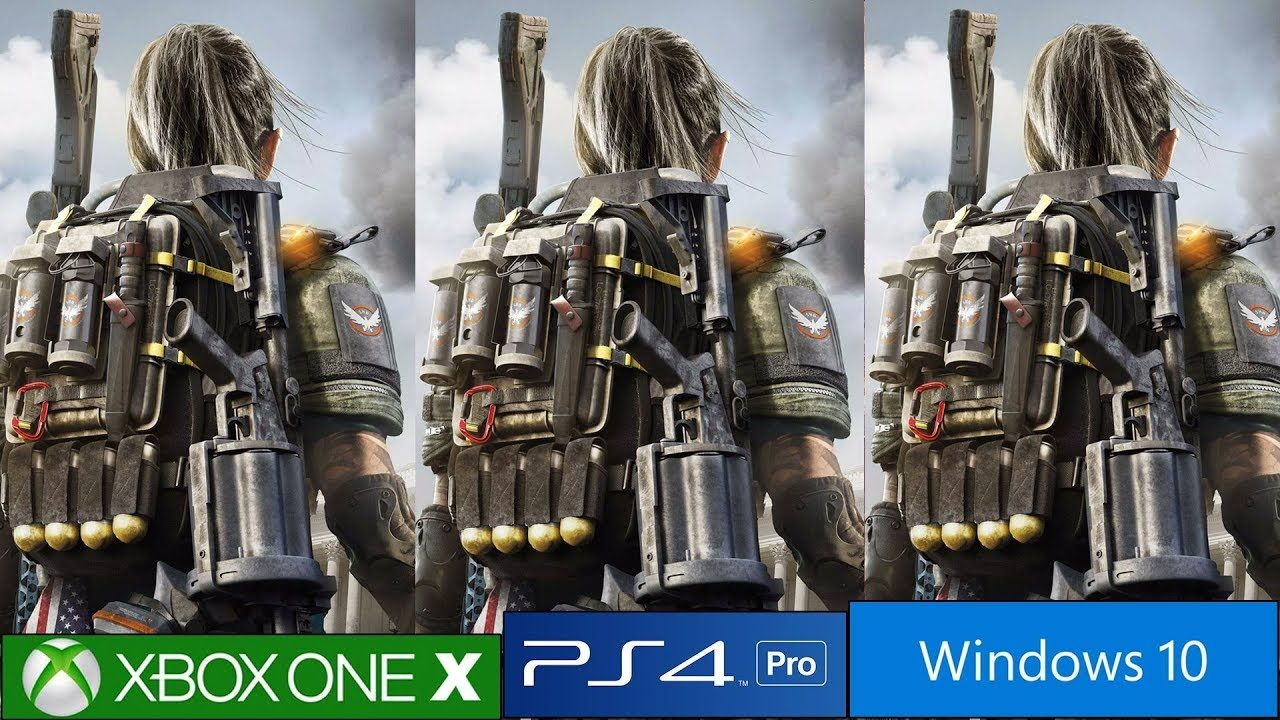 The Division 2 Ps4 Pro Vs Xbox One X Vs Pc Frame Rate Tests And
