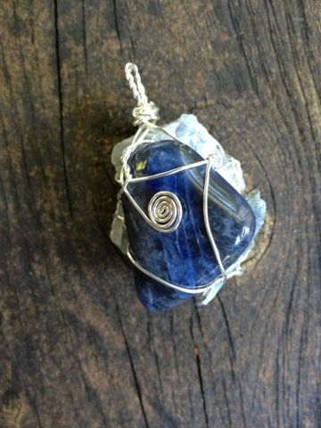 Throat chakra pendant sodalite blue calcite and kyanite throat throat chakra pendant sodalite blue calcite and kyanite throat is the center aloadofball Gallery